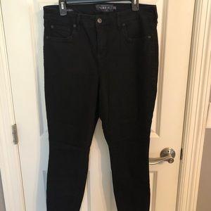 Torrid Premium 14R Black High Curvy Rise Jeans